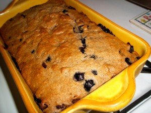 Happy Mistakes (Oops! Blueberry Banana Bread Recipe)