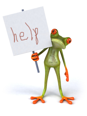lost voice frog