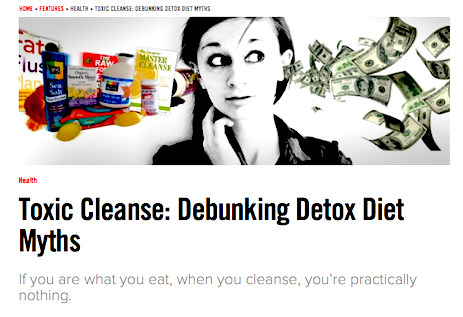 detox diet article