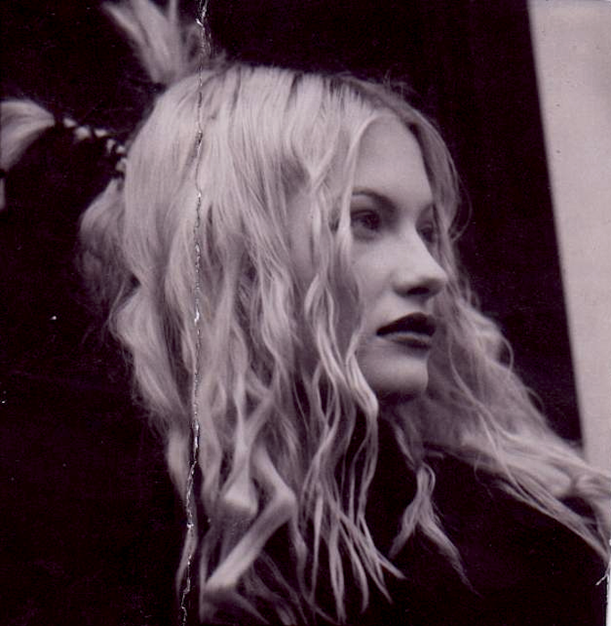 Polaroid from one of my editorial shoots in NYC