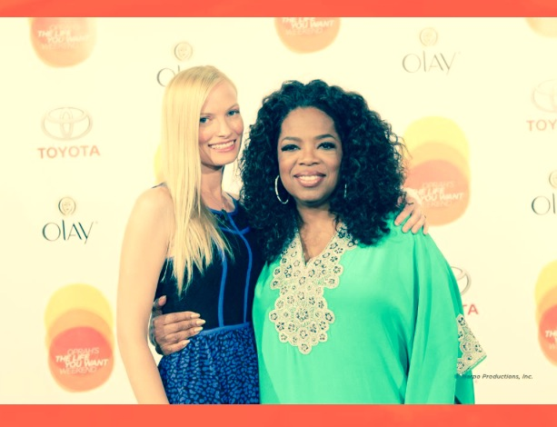 With Oprah, a dream come true