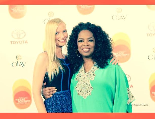 With Oprah, a dream come true