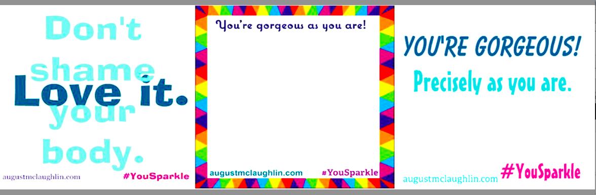You Sparkle sticky notes