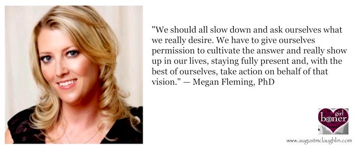 Dr. Megan Fleming quote 1
