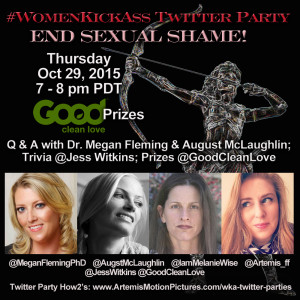 Imagining An End to Sexual Shame (and an Invite to a Twitter Party)