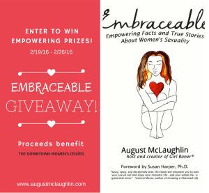 """""""Embraceable"""" Release Giveaway!"""