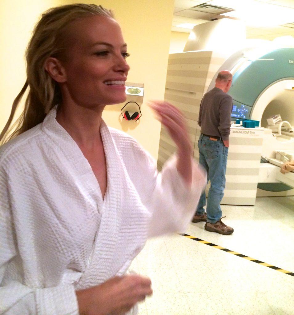 Grey's Anatomy orgasm MRI